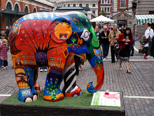 Elephant Parade - The Lion King on Stage