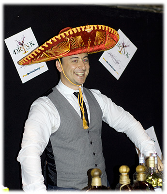Andy Pearson in Mexican Sombrero