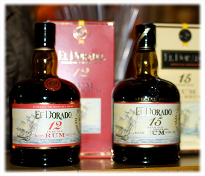 El Dorado 12 and 15 Year Old Rum