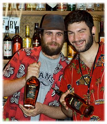 Kanaloa Bartenders with El Dorado Rum