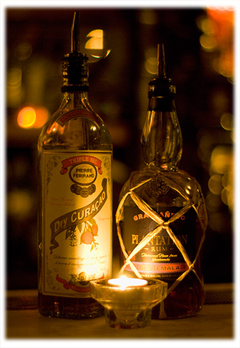 Plantation Guatemala Gran Añejo Rum and Pierre Ferrand Dry Curaçao Triple Sec