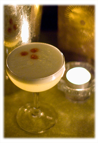 Rum Sours Cocktail