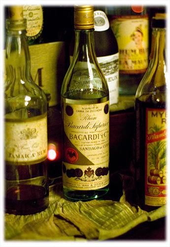 Old Rum at Floridita