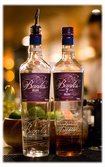 Banks 5 Island Rum & 7 Golden Age Rum