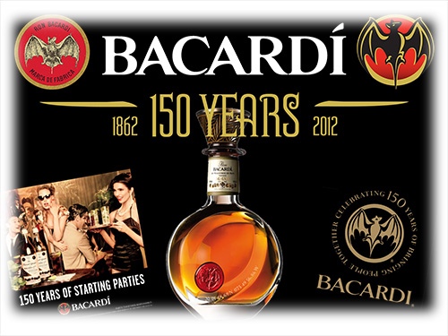 Celebrating 150 Years of Bacardi